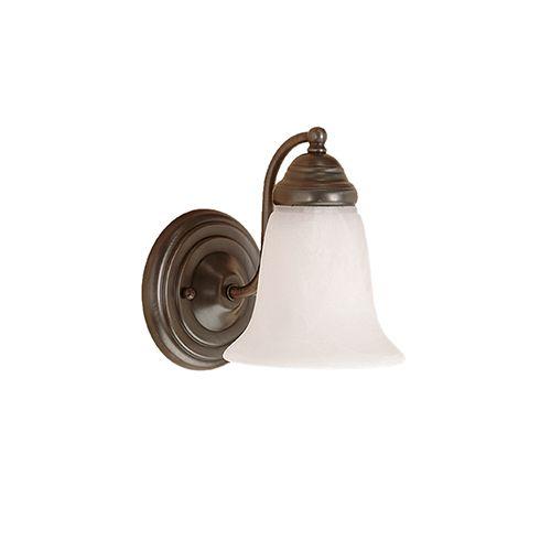 Millennium Lighting 300 Series 1-Light Bath Vanity in Colonial Bronze