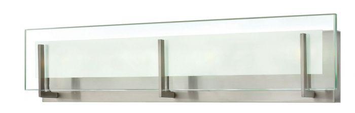 Hinkley Latitude LED Bathroom Vanity Light in Brushed Nickel