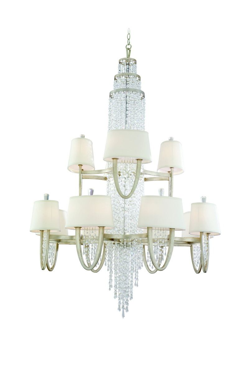 Corbett Lighting Viceroy Crystal Accented 16 8 Chandelier