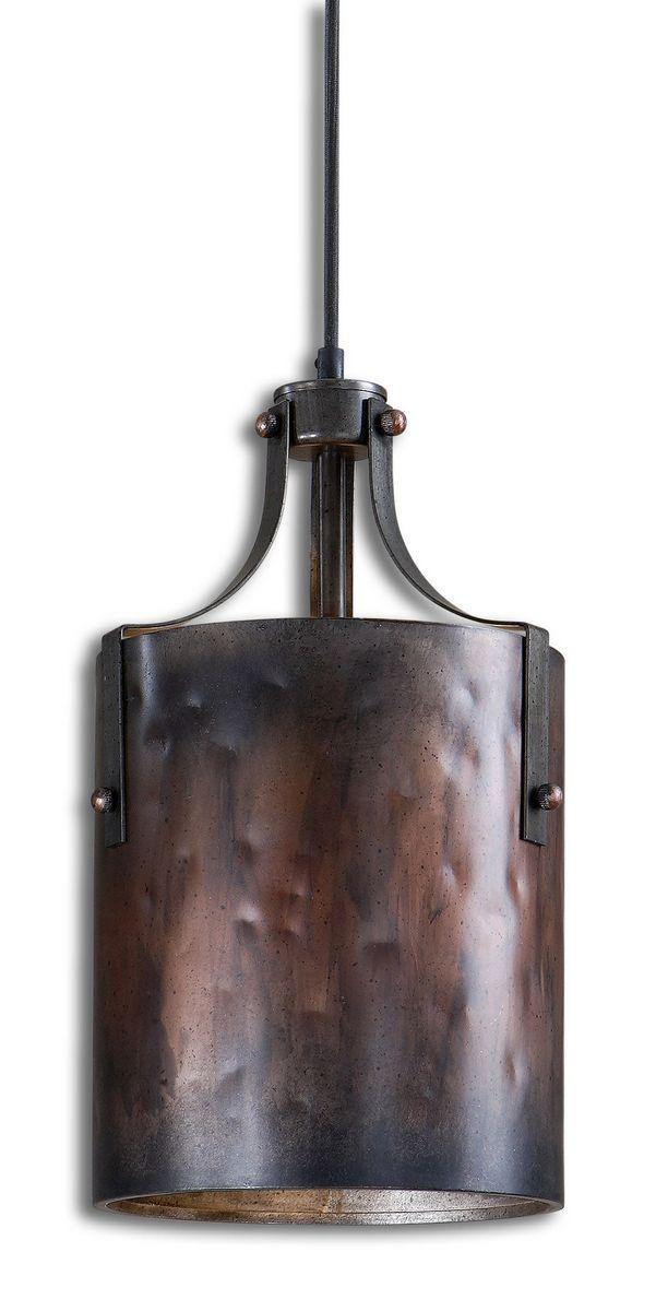 Uttermost Akron Copper Mini Pendant