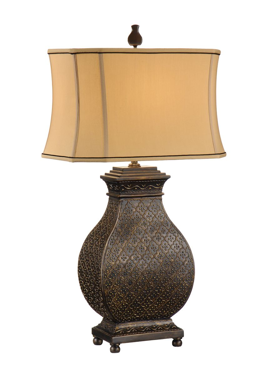 Wildwood Lamps Moroccan Bronze Table Lamp
