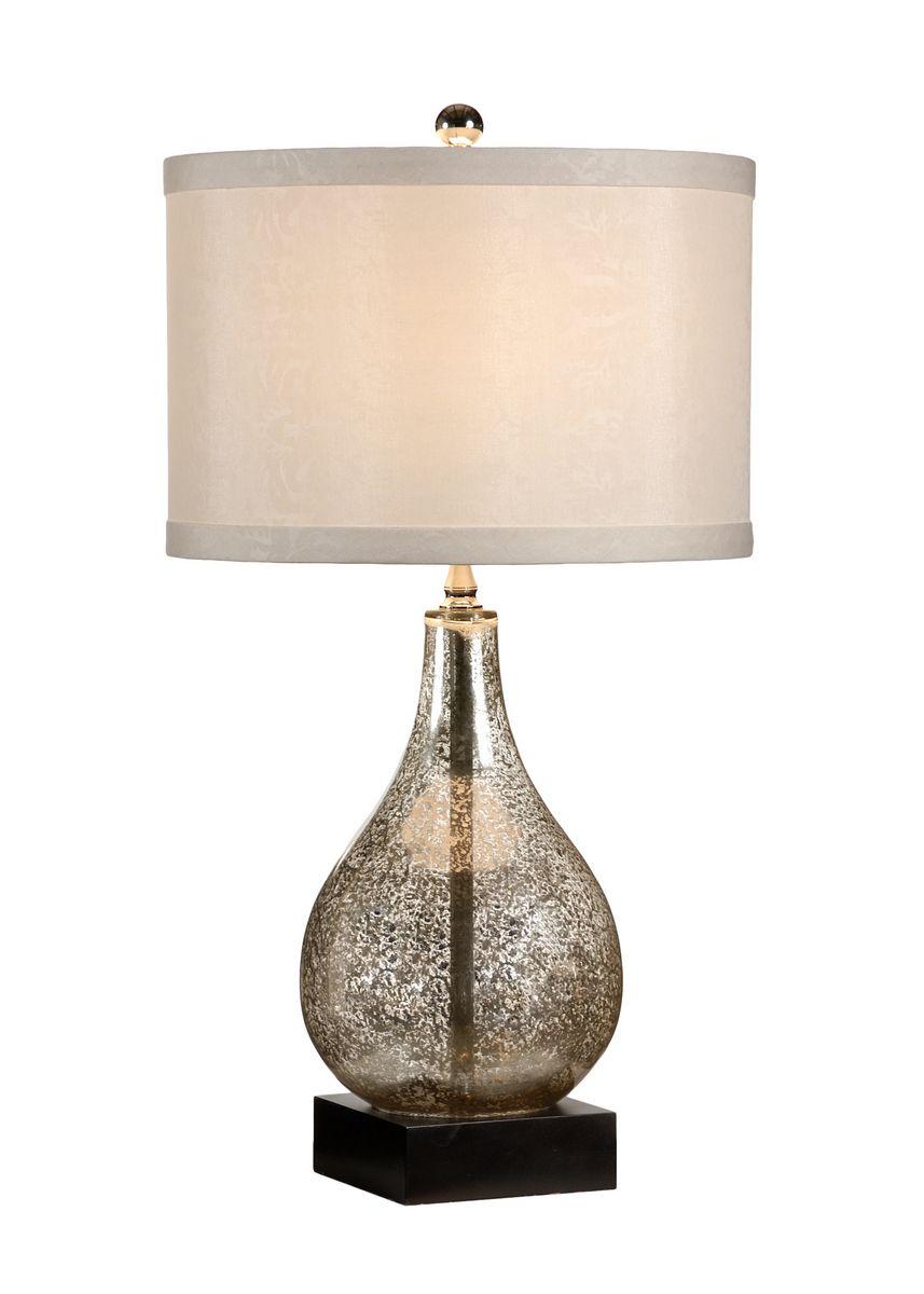 Wildwood Lamps Mercury Glass Table Lamp