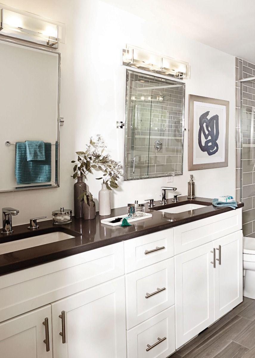 Hinkley Latitude Minimalist Bathroom Vanity Light In Chrome