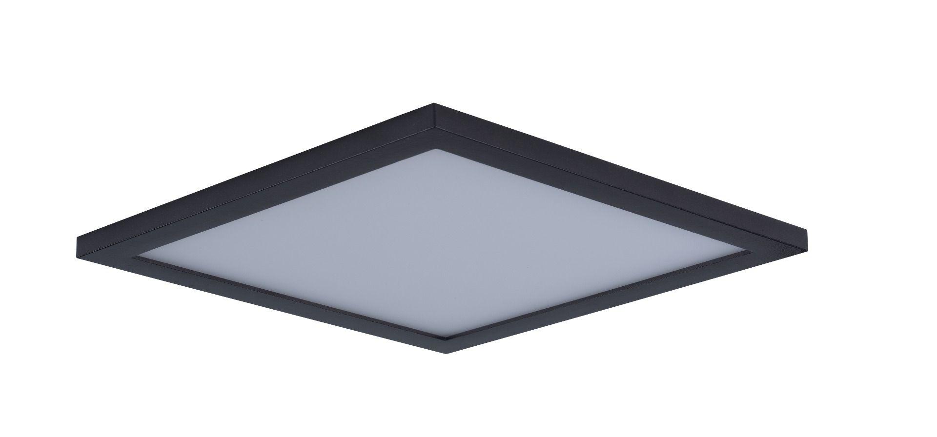 Maxim Lighting Wafer Led 15 Square Ceiling Light In Bronze