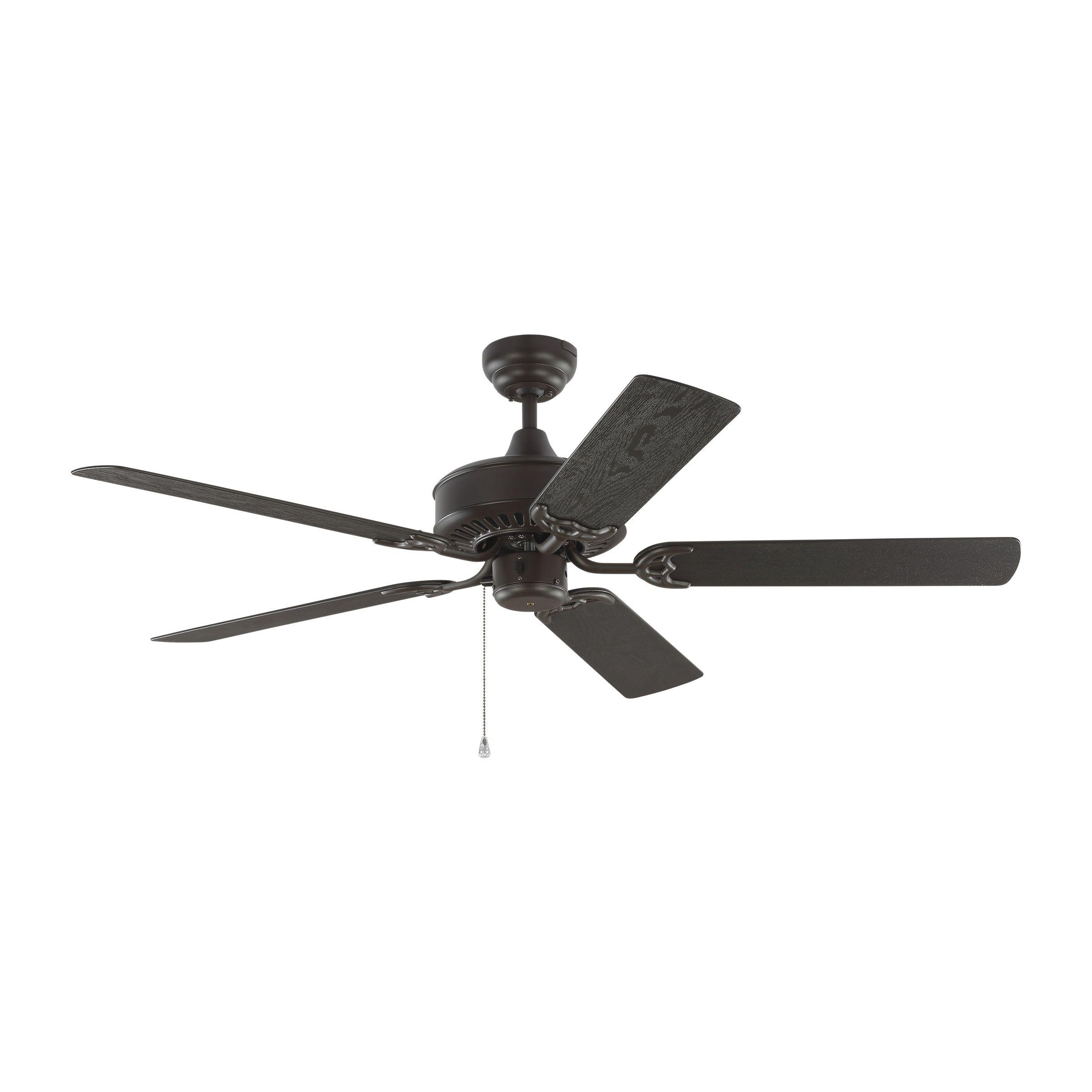 Monte Carlo Haven 52 Indoor Outdoor Ceiling Fan In Bronze