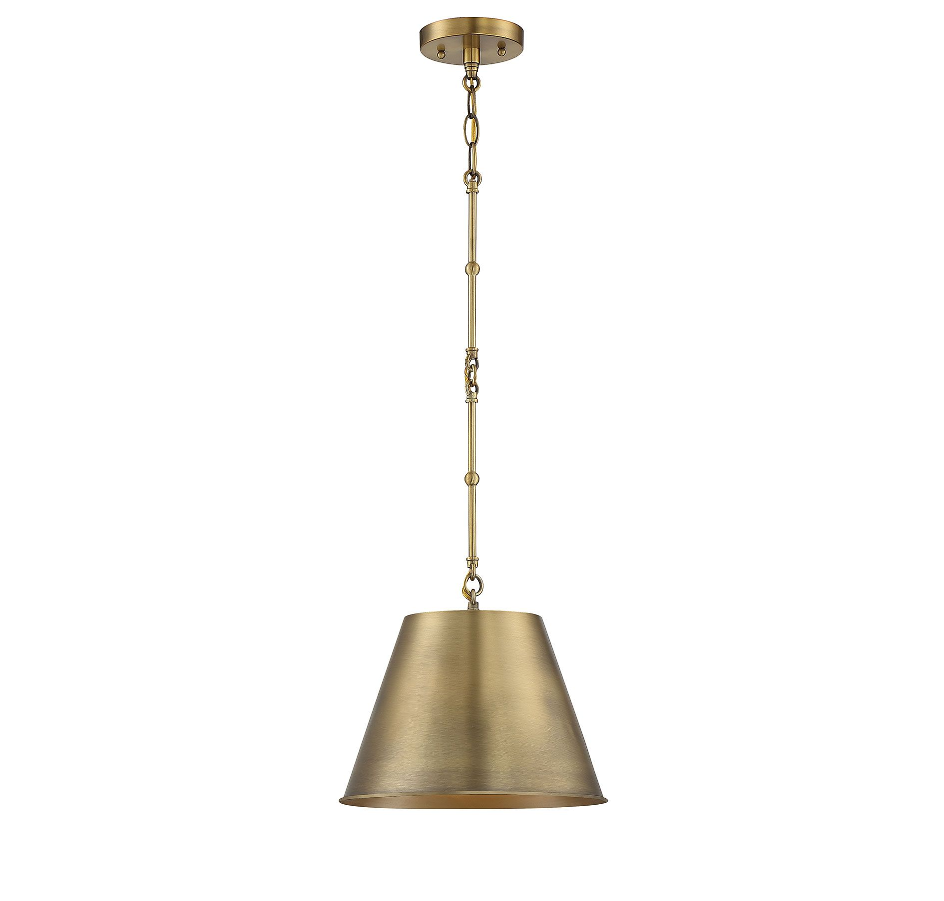 wholesale dealer 229dc 37519 Savoy House Alden Hanging Pendant in Warm Brass