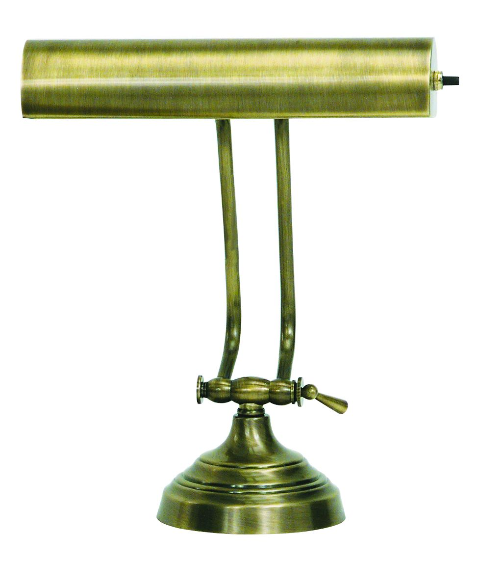 House Of Troy Advent 10 Antique Brass Piano Desk Lamp