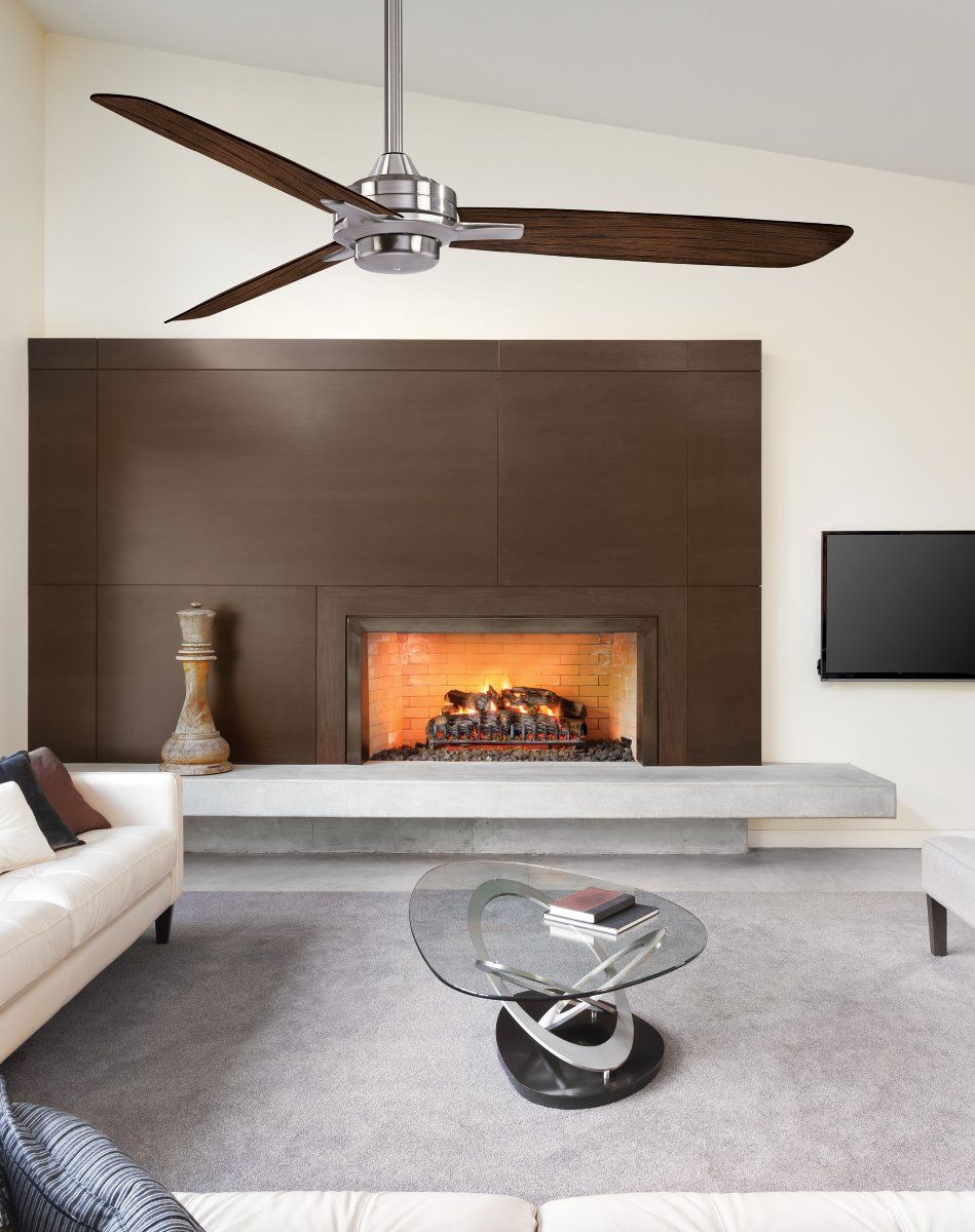 Minka Aire Rudolph 52 Quot Ceiling Fan In Brushed Nickel With