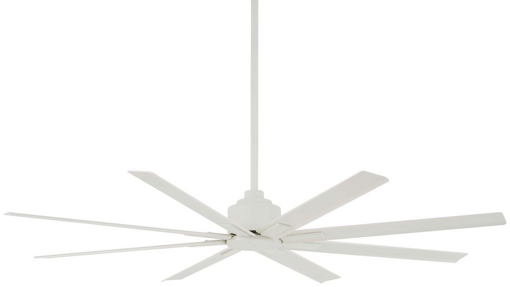 Minka Aire Xtreme H2o 65 Quot Indoor Outdoor Ceiling Fan In Flat White Outdoor Ceiling Fans