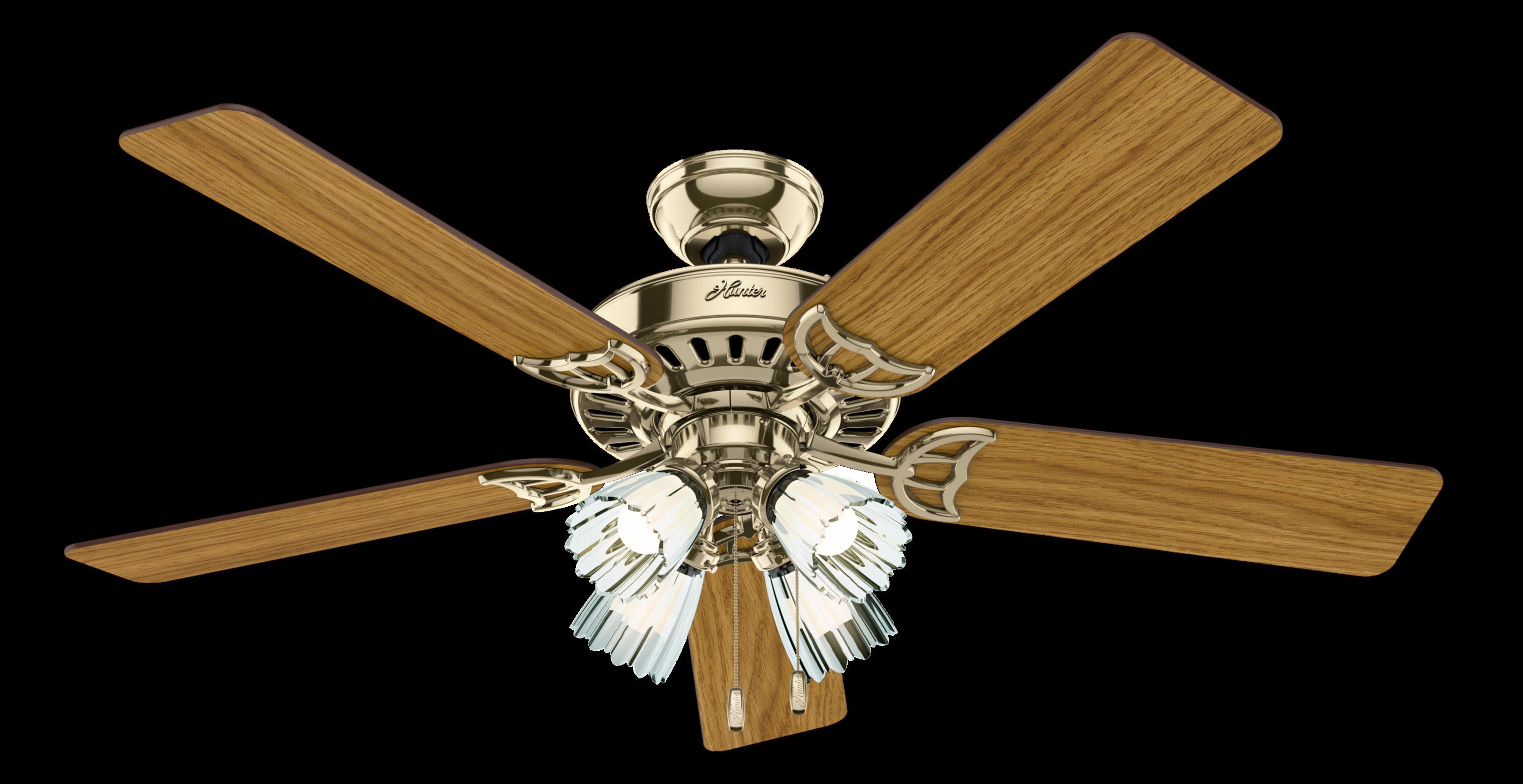 Hunter Studio Series 4 Light 52 Quot Indoor Ceiling Fan In