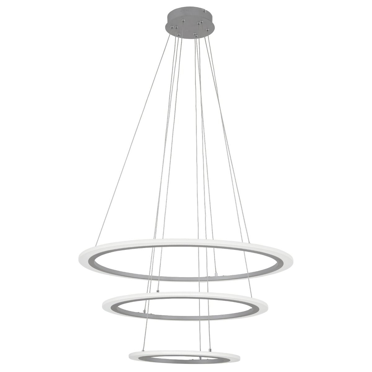 George Kovacs Discovery 31 Pendant Light In Silver