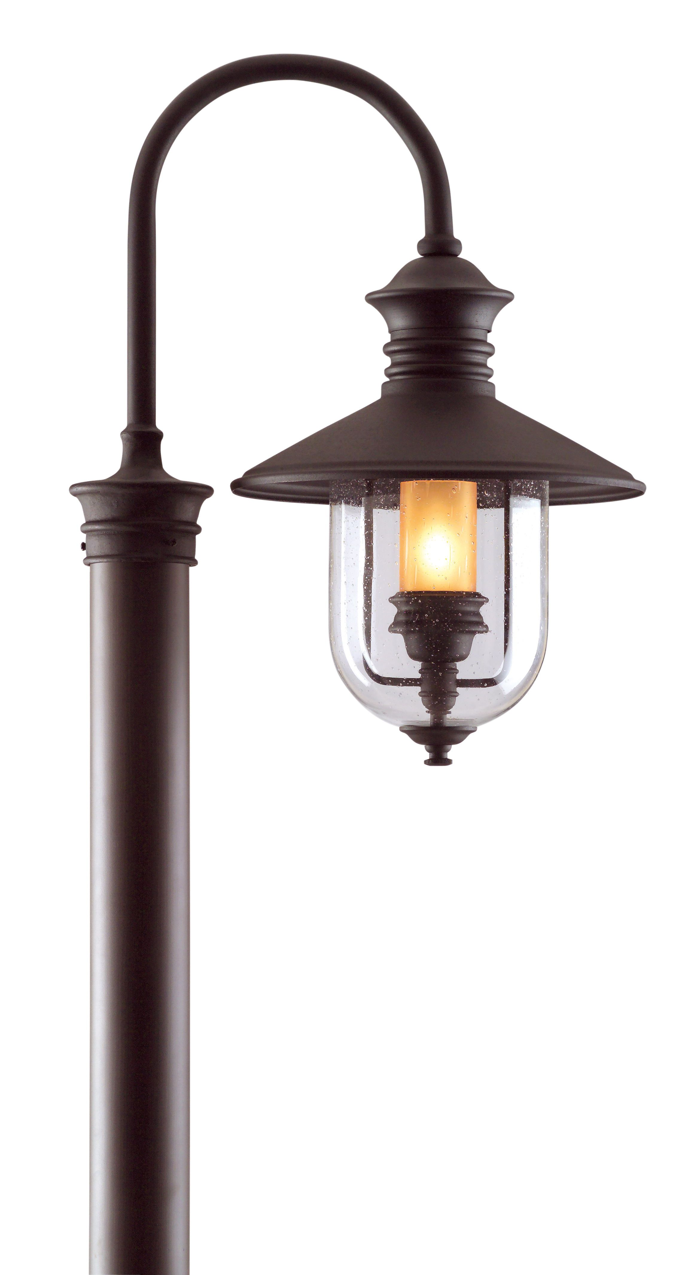 Troy Old Town 22 Outdoor Wall Light In Natural Bronze