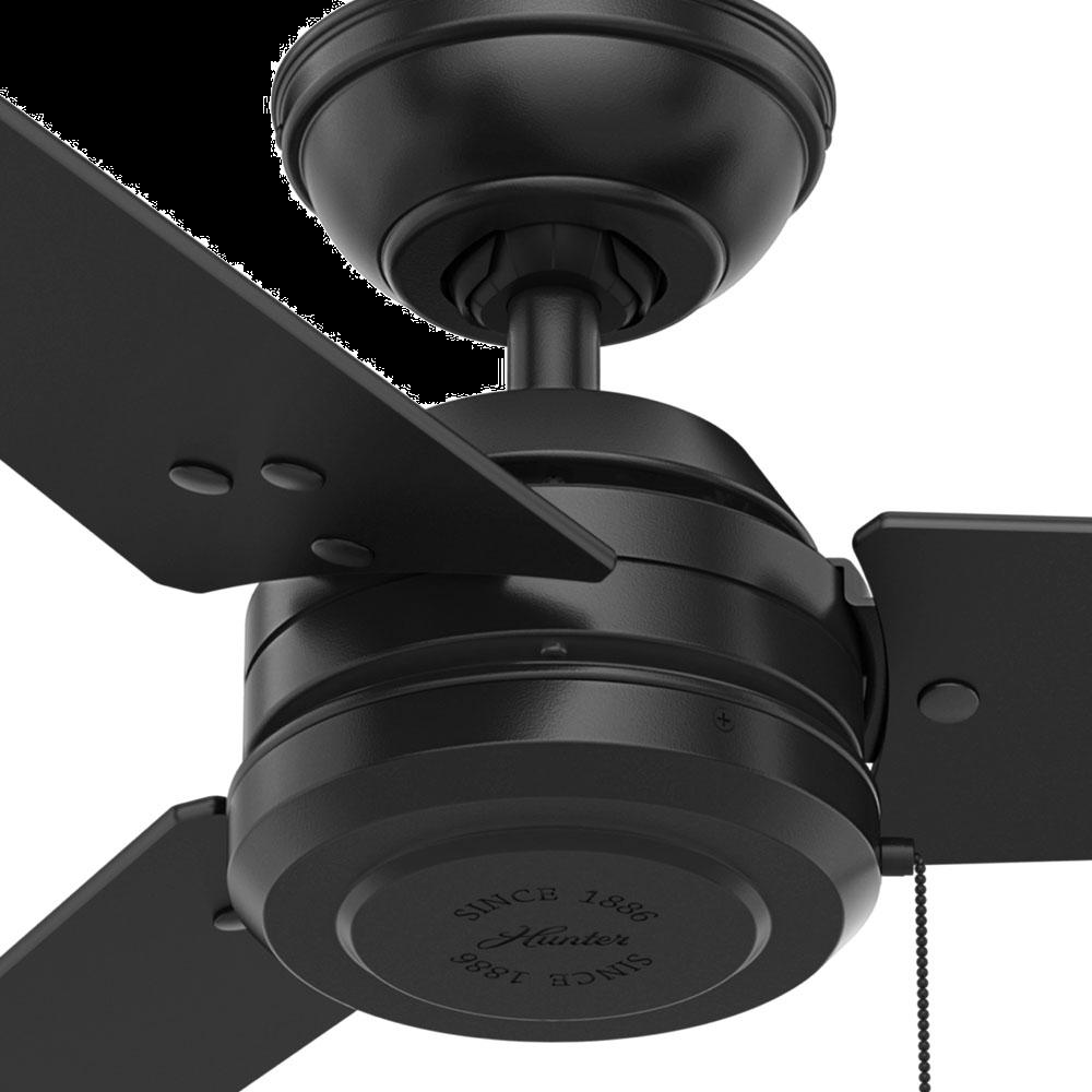 Hunter Cassius 52 Quot Indoor Outdoor Ceiling Fan In Matte