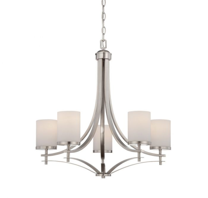 Savoy house colton 5 light chandelier in satin nickel transitional savoy house colton 5 light chandelier in satin nickel transitional chandeliers chandeliers aloadofball Choice Image