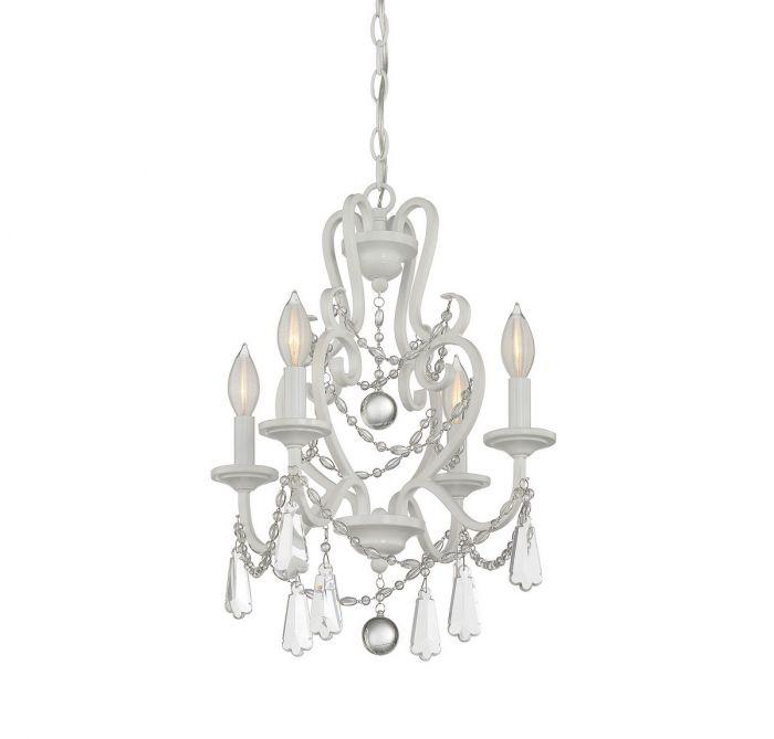 Savoy house 4 light mini chandelier in matte white mini savoy house 4 light mini chandelier in matte white mini chandeliers chandeliers aloadofball Gallery