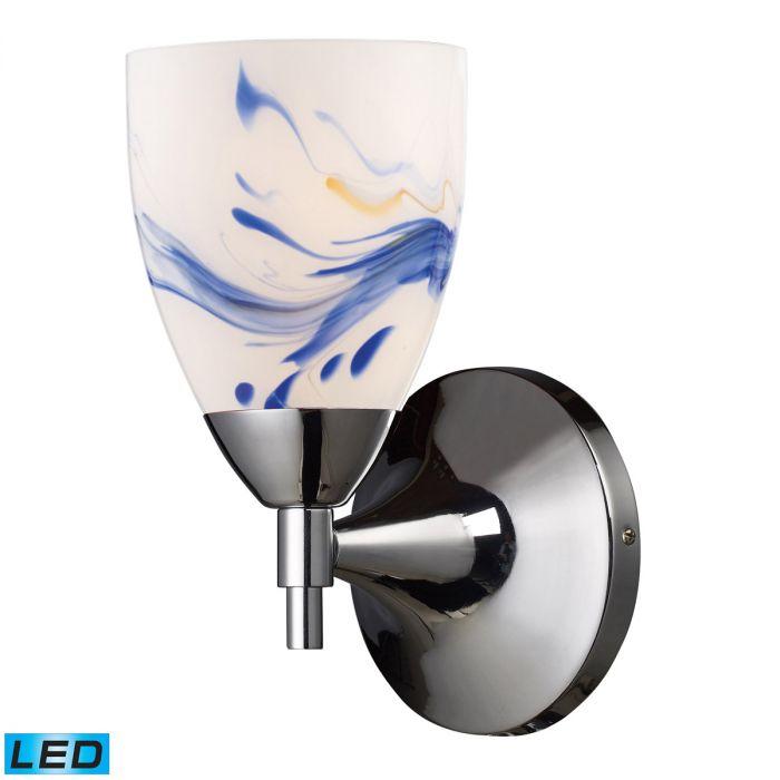 Elk Lighting Celina LED 1 Light Wall Sconce In Polished Chrome   Wall  Sconces   Wall Lights