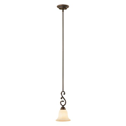 Millennium Lighting Oxford 1 Light Mini Pendant In Rubbed Bronze Pendants Lights Ceiling