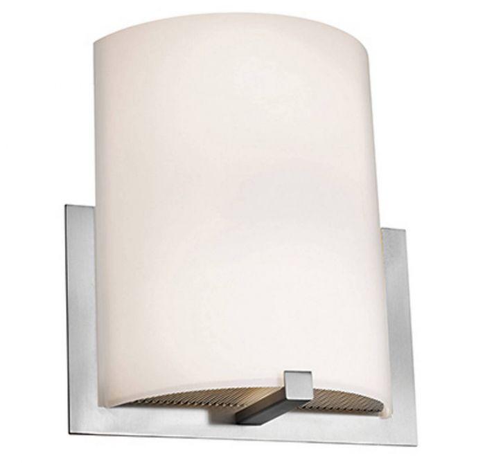 Access Lighting Cobalt 11 5 Led Wall Sconce In Brushed Steel Sconces Lights