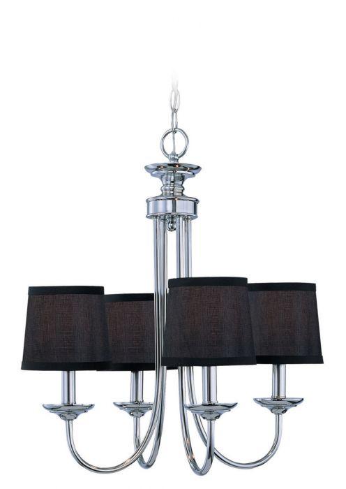 jeremiah lighting spencer 4 light up chandelier in chrome
