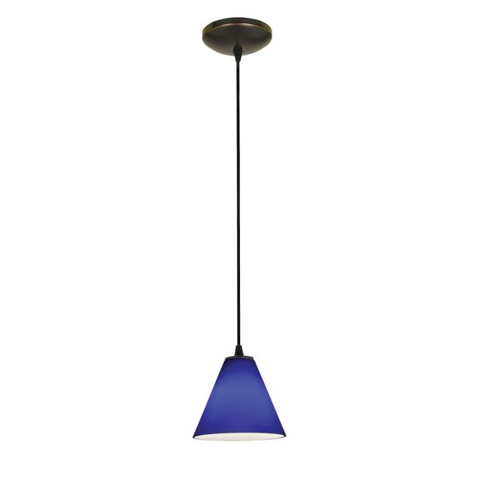 access lighting martini cobalt corded pendant in oil rubbed bronze pendant lights ceiling lights - Oil Rubbed Bronze Pendant Light