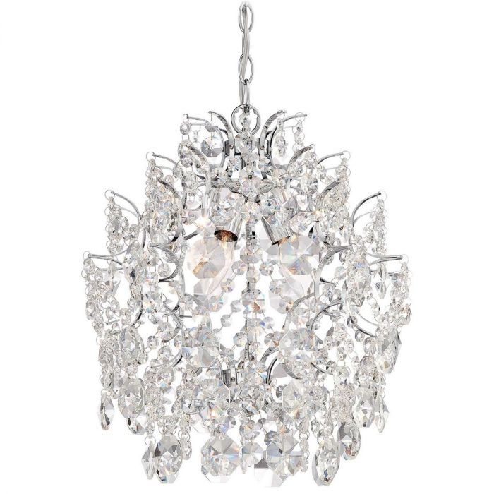 Minka Lavery Isabella S Crown Mini Chandelier In Chrome Chandeliers