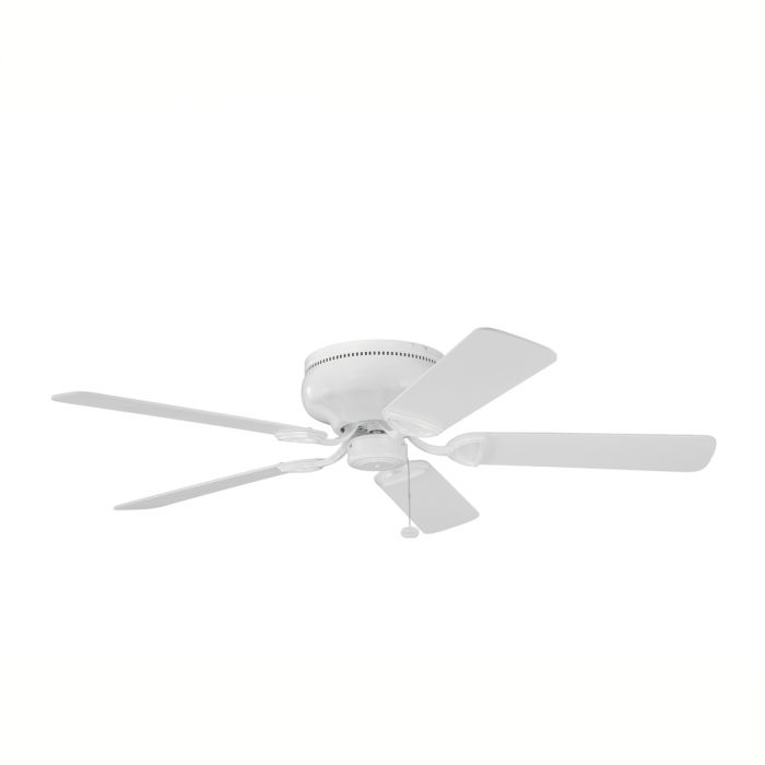 Kichler Stratmoor 52 Inch Ceiling Fan In White Finish Indoor Fans