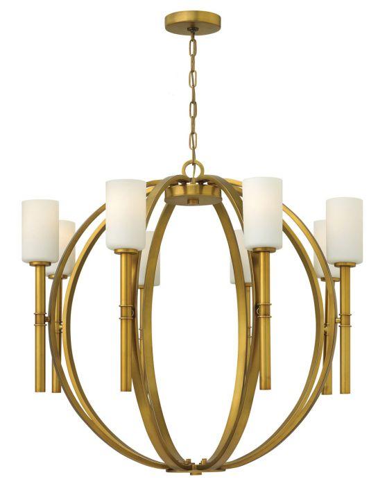 Hinkley margeaux 8 light mini chandelier in vintage brass finish hinkley margeaux 8 light mini chandelier in vintage brass finish mini chandeliers chandeliers aloadofball Gallery