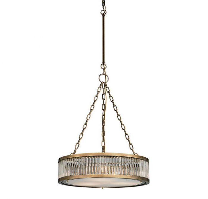 Elk linden 3 light pendant in aged brass drum pendants pendant elk linden 3 light pendant in aged brass drum pendants pendant lights ceiling lights aloadofball Choice Image