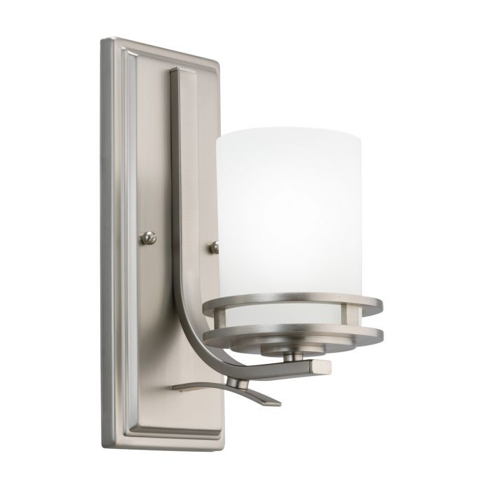 Kichler Hendrik Wall Sconce In Brushed Nickel Wall Sconces Wall