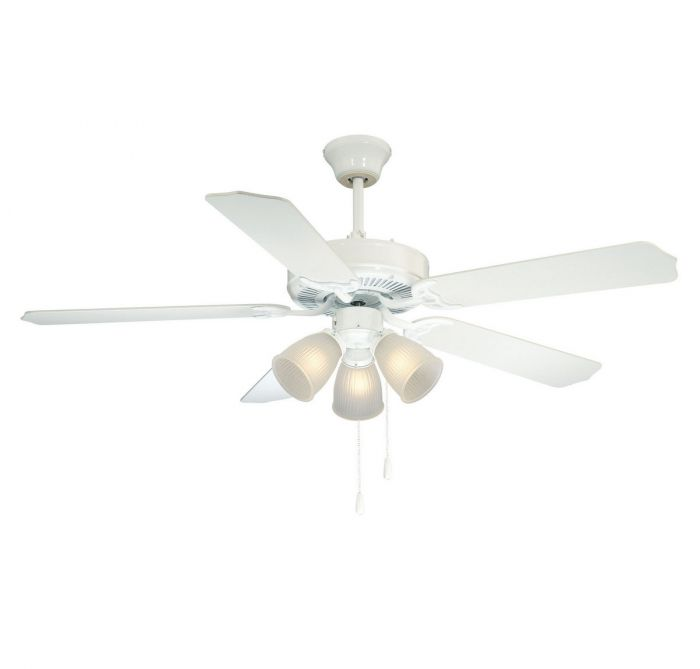 Savoy house first value 52 3 light ceiling fan in white indoor savoy house first value 52 3 light ceiling fan in white indoor ceiling fans ceiling fans aloadofball Gallery