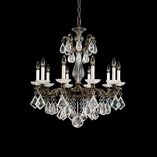 Schonbek la scala 10 light rock crystal chandelier crystal schonbek la scala 10 light rock crystal chandelier crystal chandeliers chandeliers aloadofball Images