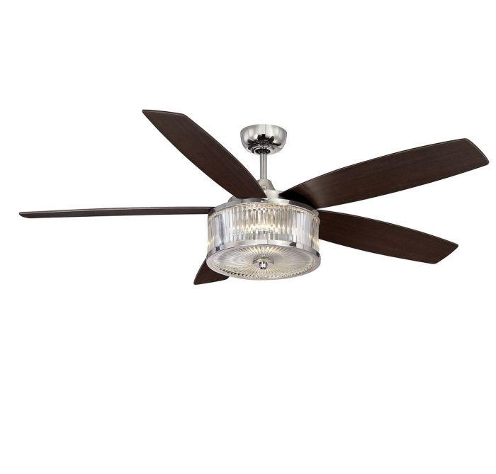 Savoy house phoebe 56 ceiling fan in polished nickel indoor skip to the end of the images gallery aloadofball Gallery