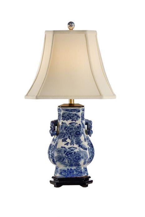 Frederick cooper blue tang table lamp table lamps lamps aloadofball Choice Image