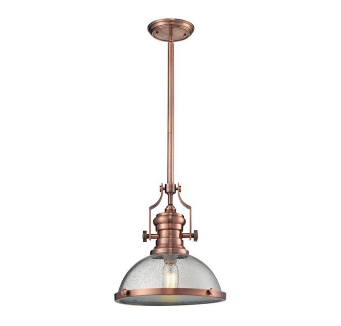 Elk chadwick 13 pendant in copper seeded glass pendant lights elk chadwick 13 pendant in copper seeded glass pendant lights ceiling lights aloadofball Image collections
