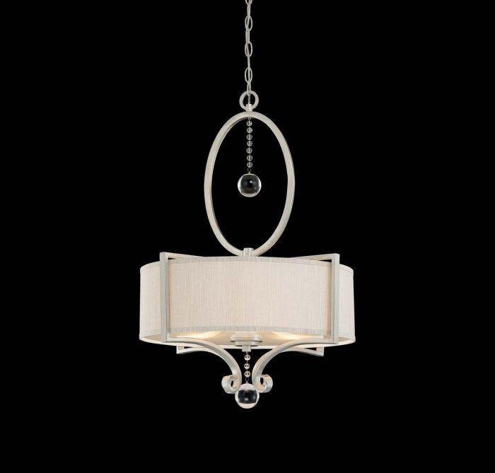 Savoy house rosendal 3 light drum pendant in silver sparkle savoy house rosendal 3 light drum pendant in silver sparkle pendant lights ceiling lights aloadofball Images