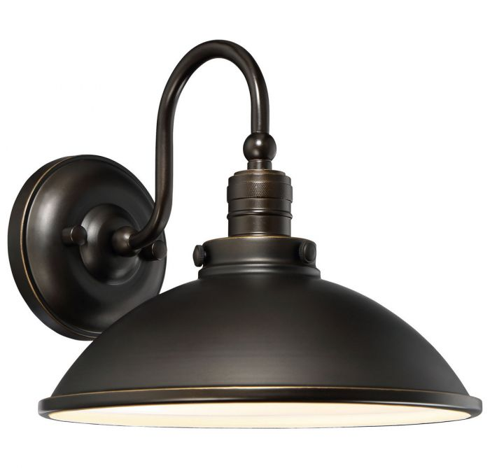 Minka Lavery Baytree Lane Led Outdoor Wall Lantern In Oil Rubbed Bronze Lights