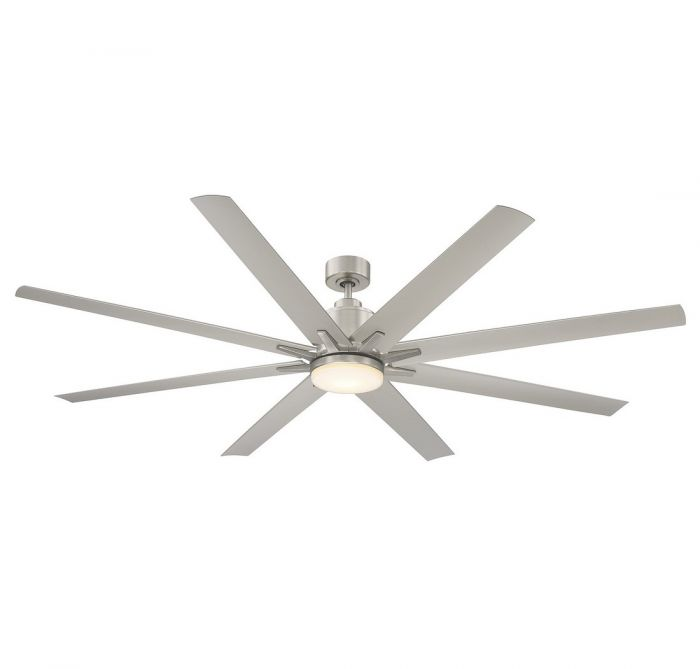Savoy house bluffton 72 8 blade outdoor ceiling fan in satin nickel skip to the beginning of the images gallery details the savoy house bluffton ceiling fan mozeypictures Gallery