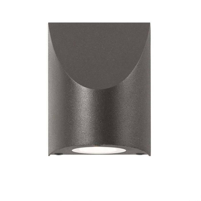 Sonneman Shear 475 Wall Sconce In Textured Bronze Wall Sconces