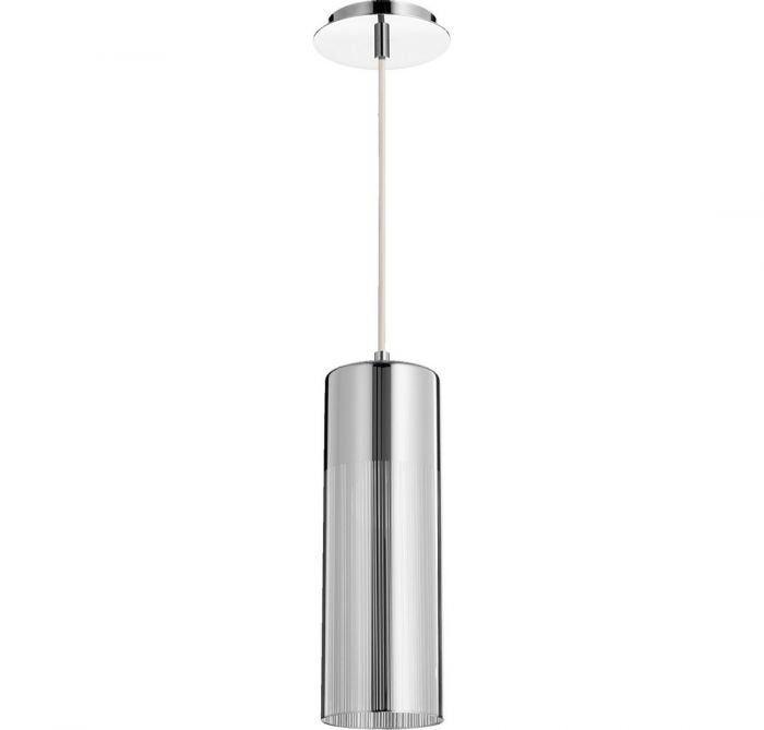 Quorum Pend 4 75 Mini Pendant In Chrome Pendants Lights Ceiling