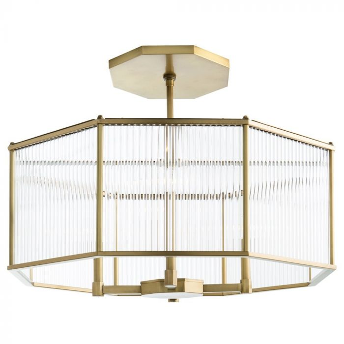Arteriors Ds89002 Hera 30 4 Light Octagon Chandelier In Antique Brass Skip To The End Of Images Gallery