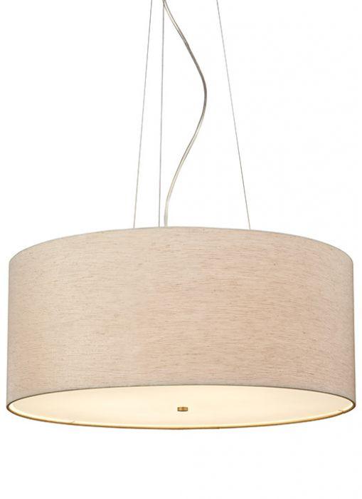 lbl lighting fiona grande 4 light fluorescent drum pendant in bronze