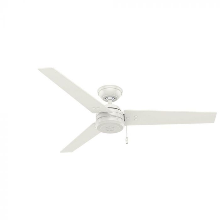 Hunter Cassius 52 Ceiling Fan In White Indoor Fans