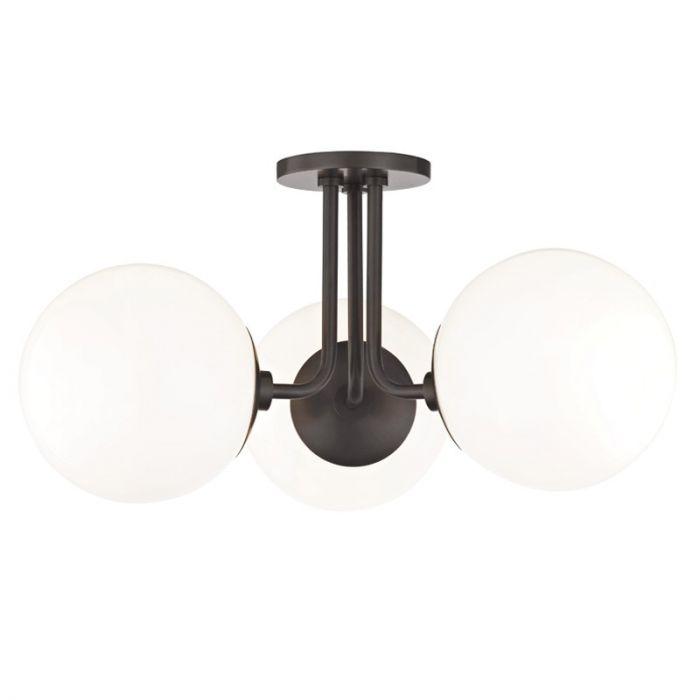 Hudson Valley Mitzi Stella ceiling semi-flush mount - Lights Online Blog