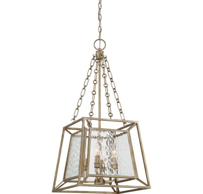 Quoizel lakeside 4 light cage chandelier in vintage gold quoizel lakeside 4 light cage chandelier in vintage gold transitional chandeliers chandeliers aloadofball Gallery