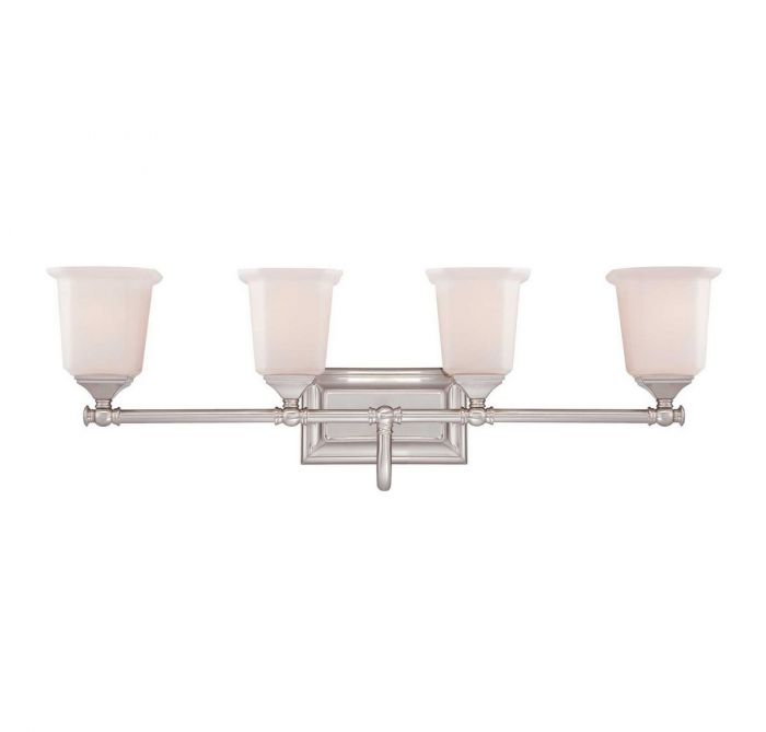 Bath Light In Brushed Nickel Finish Skip To The End Of Images Gallery Beginning