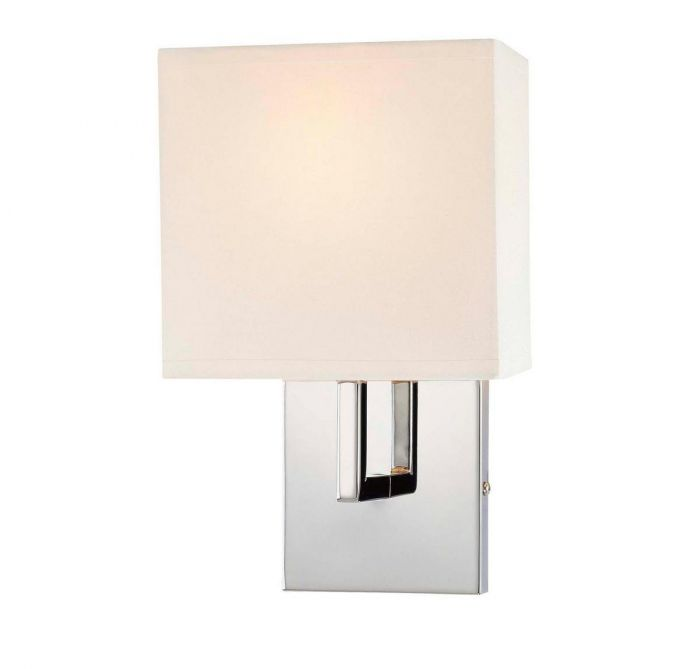 George Kovacs Wall Sconces 1 Light Wall Sconce In Chrome   Wall Sconces    Wall Lights