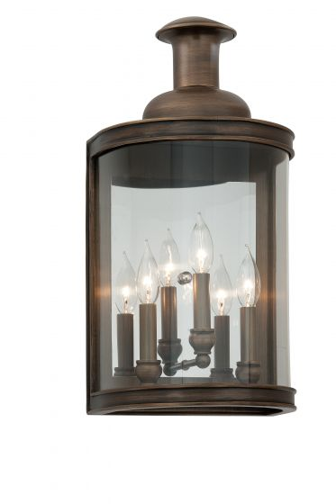 Troy Pullman 3 Light 20 Outdoor Wall In English Bronze