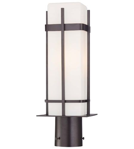 """The Great Outdoors Sterling Heights 17"""" Outdoor Wall Light in Dorian Bronze"""