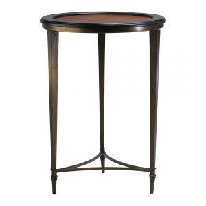 """Cyan Design Paloma 28.5"""" Side Table in Ebony/Mahogany"""