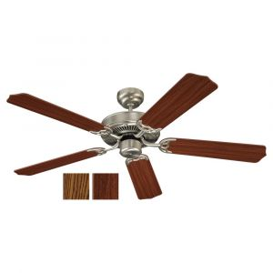 """Sea Gull Lighting Quality Max 52"""" Ceiling Fan in Brushed Nickel"""